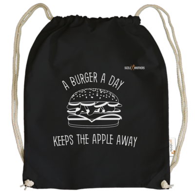 Motiv: Cotton Gymsac - SizzleBrothers - Grillen - Burger Apple