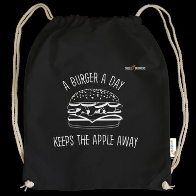 Motiv: Cotton Gymsac - SizzleBrothers - Grillen - Burger Apple