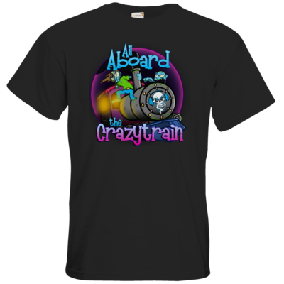Motiv: T-Shirt Premium FAIR WEAR - SandcoolTV - Crazytrain