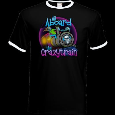 Motiv: T-Shirt Ringer - SandcoolTV - Crazytrain