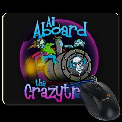 Motiv: Mousepad Textil - SandcoolTV - Crazytrain