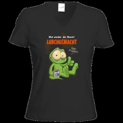 Motiv: T-Shirt Damen V-Neck Classic - Lurchgemacht