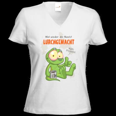Motiv: T-Shirts Damen V-Neck FAIR WEAR - Lurchgemacht