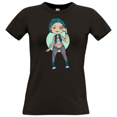 Motiv: T-Shirt Damen Premium FAIR WEAR - Cadniss - Motiv 1