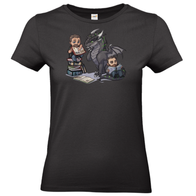 Motiv: T-Shirt Damen Premium FAIR WEAR - Ulisses - Chibi - Vlog