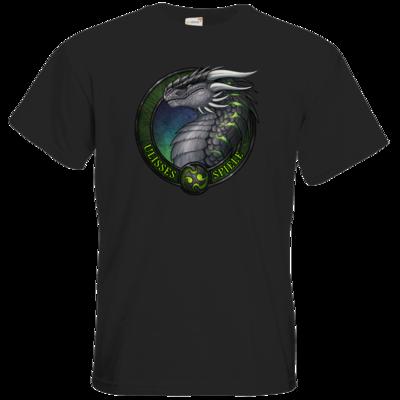Motiv: T-Shirt Premium FAIR WEAR - Ulisses - Logo Ulisses-Spiele