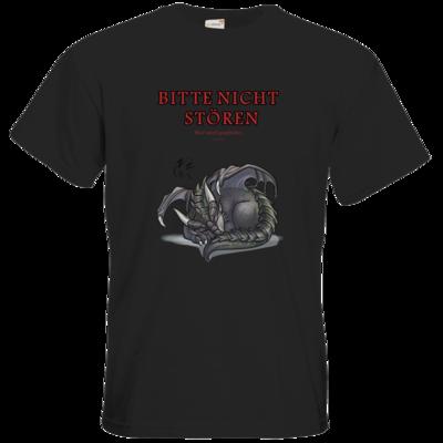 Motiv: T-Shirt Premium FAIR WEAR - Ulisses - Bitte nicht stören