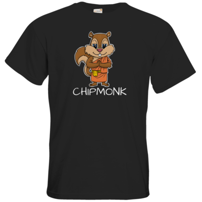 Motiv: T-Shirt Premium FAIR WEAR - drawinkpaper - Chipmonk 1