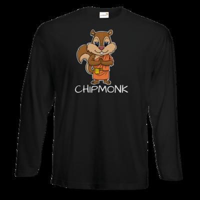 Motiv: Exact 190 Longsleeve FAIR WEAR - drawinkpaper - Chipmonk 1