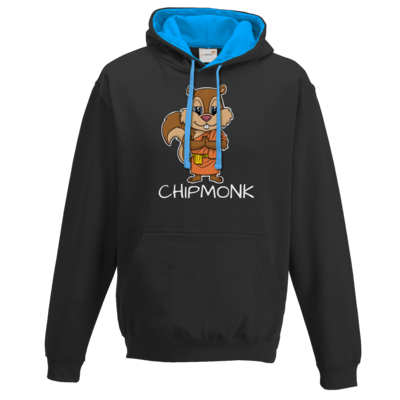 Motiv: Two-Tone Hoodie - drawinkpaper - Chipmonk 1
