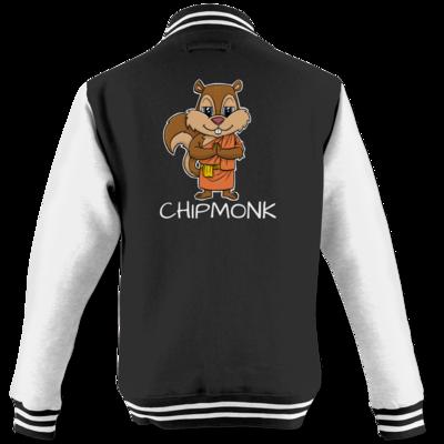 Motiv: College Jacke - drawinkpaper - Chipmonk 1