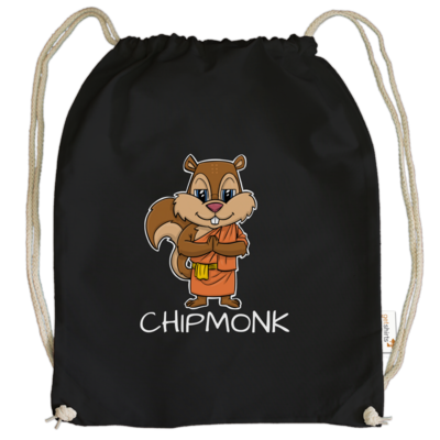 Motiv: Cotton Gymsac - drawinkpaper - Chipmonk 1