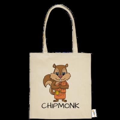 Motiv: Baumwolltasche - drawinkpaper - Chipmonk 1