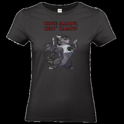 Motiv: T-Shirt Damen Premium FAIR WEAR - Ulisses - Ohne Mampf kein Kampf
