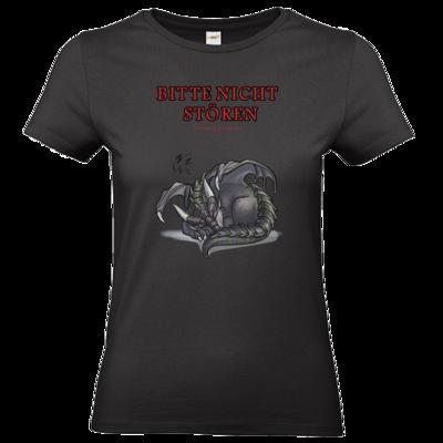 Motiv: T-Shirt Damen Premium FAIR WEAR - Ulisses - Bitte nicht stören