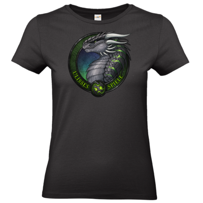 Motiv: T-Shirt Damen Premium FAIR WEAR - Ulisses - Logo Ulisses-Spiele
