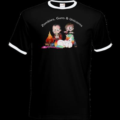 Motiv: T-Shirt Ringer - DerPeci - Motiv