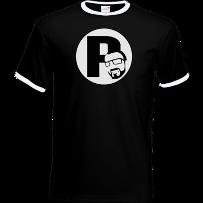 Motiv: T-Shirt Ringer - DerPeci - Logo