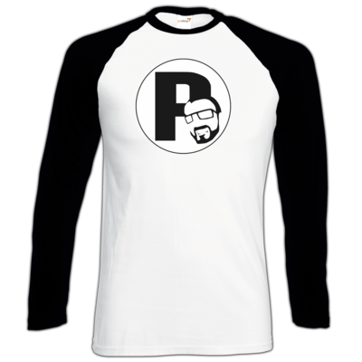Motiv: Longsleeve Baseball T - DerPeci - Logo