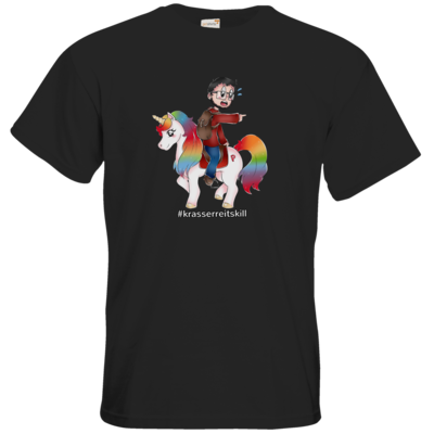 Motiv: T-Shirt Premium FAIR WEAR - DerPeci - Reitskill