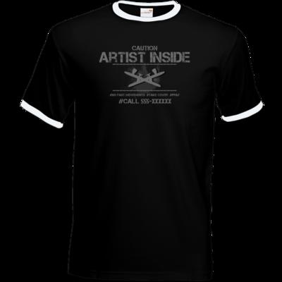 Motiv: T-Shirt Ringer - artistinside