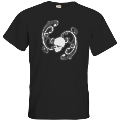 Motiv: T-Shirt Premium FAIR WEAR - Ornamental Skull