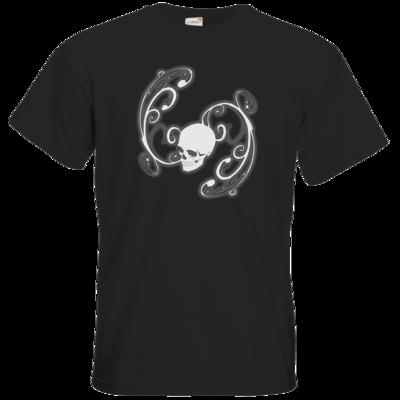 Motiv: T-Shirt Premium FAIR WEAR - Ornamental Skull