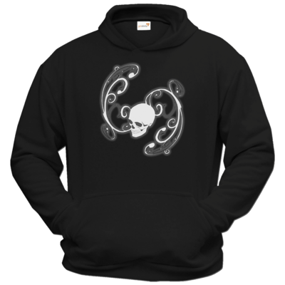 Motiv: Hoodie Classic - Ornamental Skull
