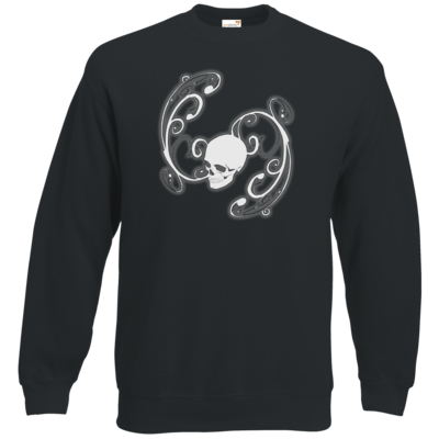 Motiv: Sweatshirt Classic - Ornamental Skull
