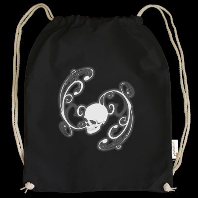 Motiv: Cotton Gymsac - Ornamental Skull