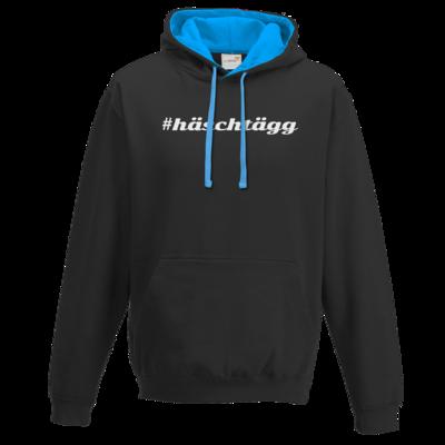 Motiv: Two-Tone Hoodie - Hashtag