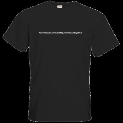 Motiv: T-Shirt Premium FAIR WEAR - Hashtag Pink