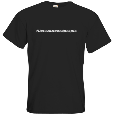 Motiv: T-Shirt Premium FAIR WEAR - Hashtag Tattoo