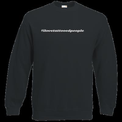 Motiv: Sweatshirt Classic - Hashtag Tattoo