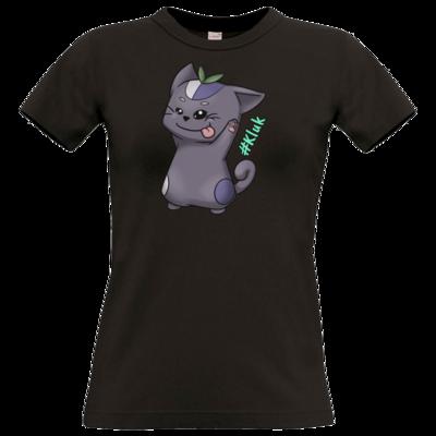 Motiv: T-Shirt Damen Premium FAIR WEAR - CatBerry - kluk