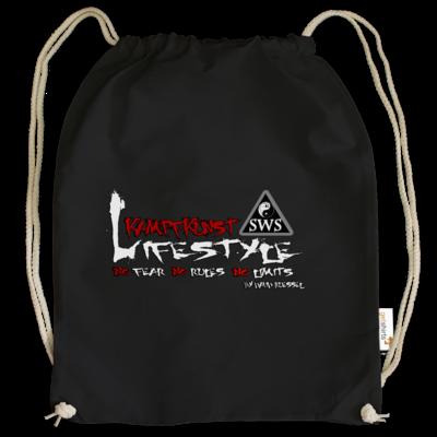 Motiv: Cotton Gymsac - Kampfkunst Lifestyle - Logo 2