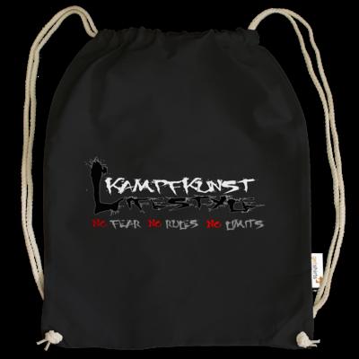 Motiv: Cotton Gymsac - Kampfkunst Lifestyle - Logo 1