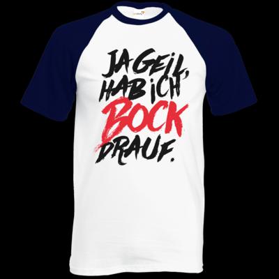 Motiv: Baseball-T FAIR WEAR - Micha Bros. - Bock