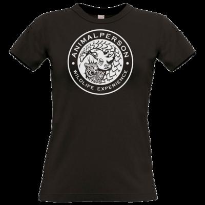 Motiv: T-Shirt Damen Premium FAIR WEAR - AnimalPerson - Logo