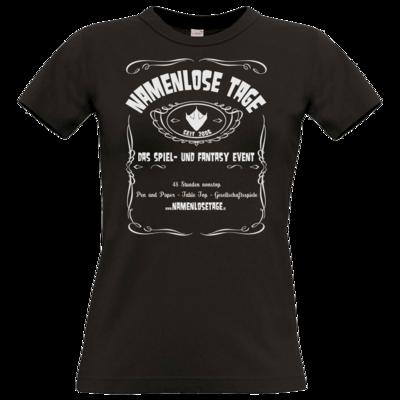Motiv: T-Shirt Damen Premium FAIR WEAR - Namenlose Tage - JD Style