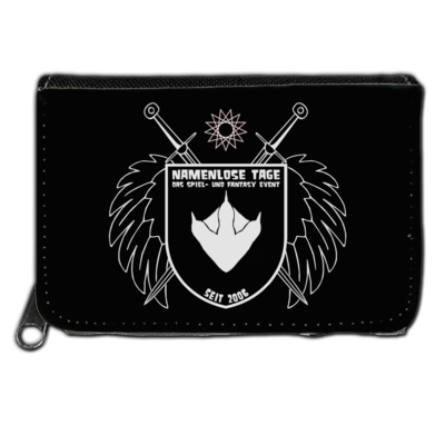 Motiv: Geldboerse - Namenlose Tage - Wappen Kissen