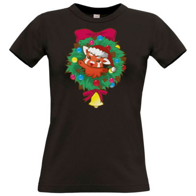 Motiv: T-Shirt Damen Premium FAIR WEAR - Syrenia - Christmas