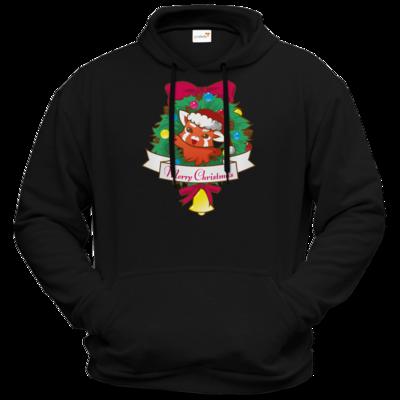 Motiv: Hoodie Premium FAIR WEAR - Syrenia - Merry Christmas