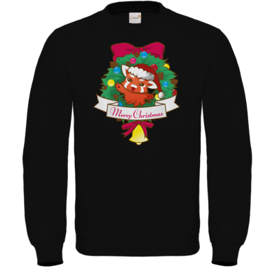 Motiv: Sweatshirt FAIR WEAR - Syrenia - Merry Christmas