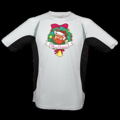 Motiv: Laufshirt Running T - Syrenia - Merry Christmas