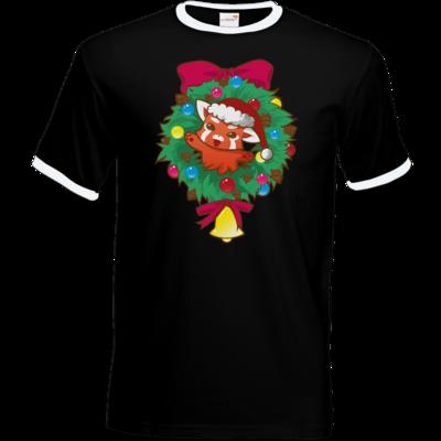 Motiv: T-Shirt Ringer - Syrenia - Christmas