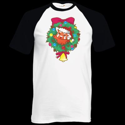 Motiv: TShirt Baseball - Syrenia - Christmas