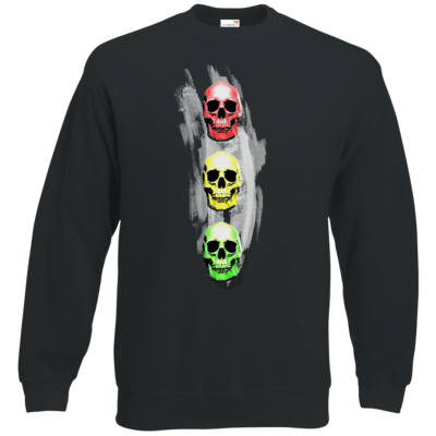 Motiv: Sweatshirt Classic - Ampelskull