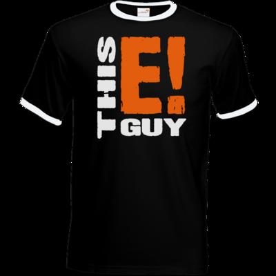 Motiv: T-Shirt Ringer - thisEguy - Logo