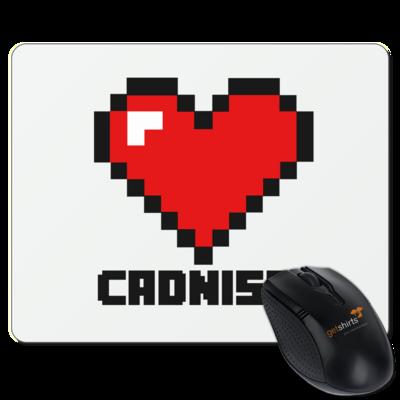 Motiv: Mousepad Textil - Cadniss - Logo